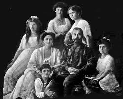 La famiglia reale Russa. I Romanov furono fucilati 17- 18 luglio 1918