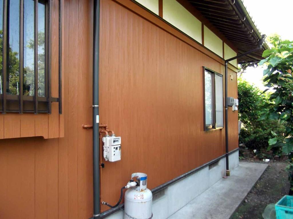 塗装施工後 関西ペイント アスカⅡ