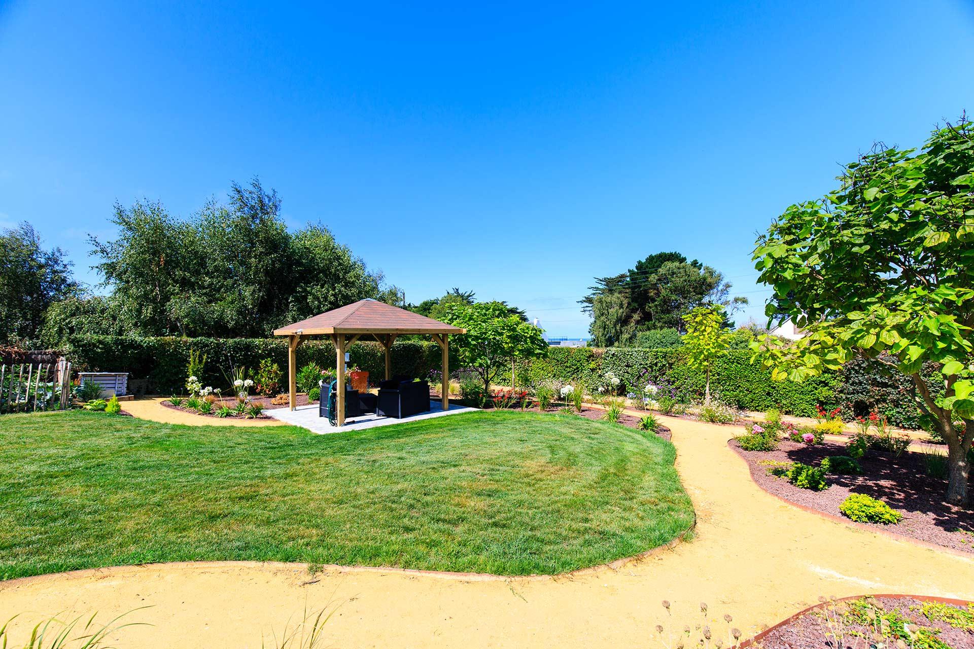 Cr ation et entretien des jardins manu paysage for Travaux entretien jardin