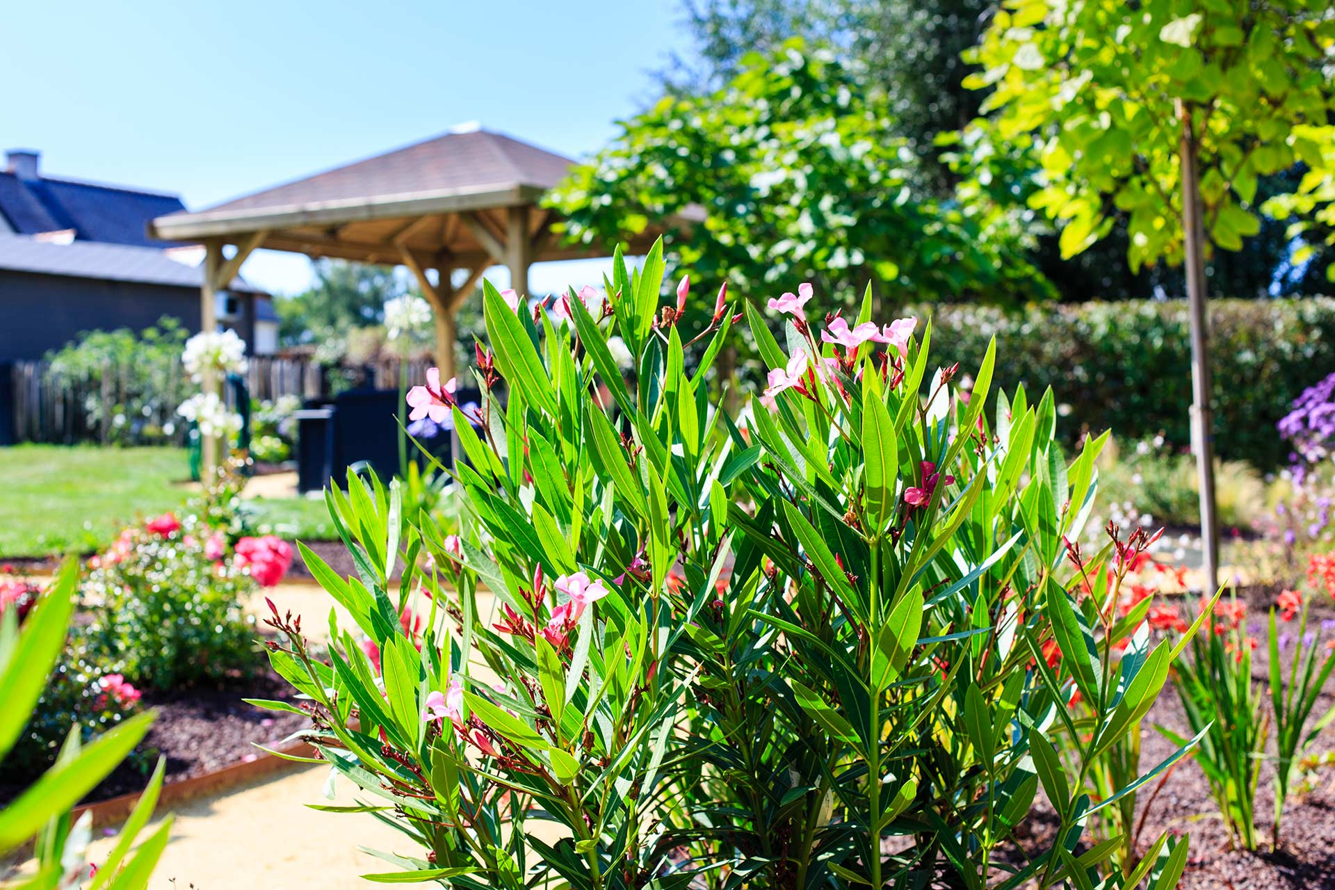 Cr ation et entretien des jardins manu paysage for Service entretien jardin
