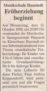 Heideecho 05.10.1988