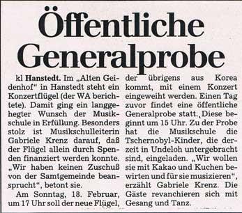 Winsener Anzeiger  10.02.1996