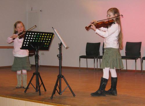 Abschlusskonzert des Wettbewerbes am 28.02.2012 in der Burg Seevetal