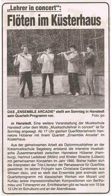 Wochenblatt Marsch & Heide 26.05.1994