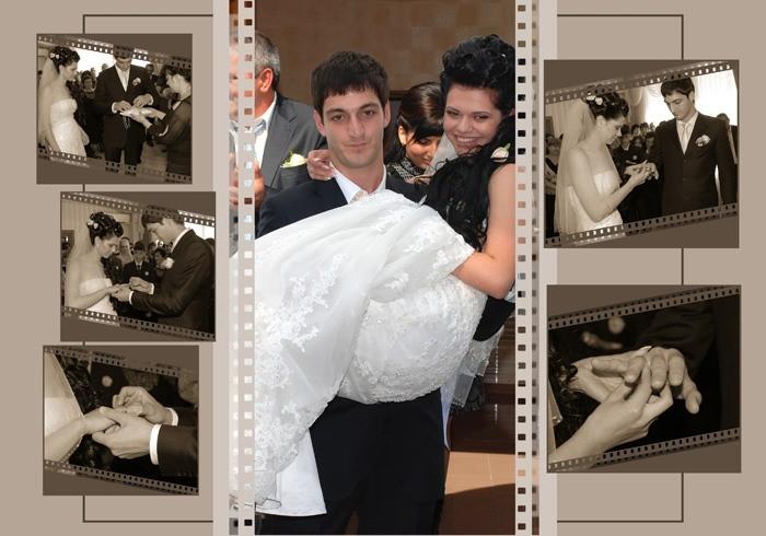 Оформление свадебных альбомов