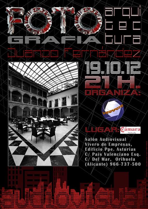 Audiovisual + charla. Fotografía de Arquitectura. Vegafoto.