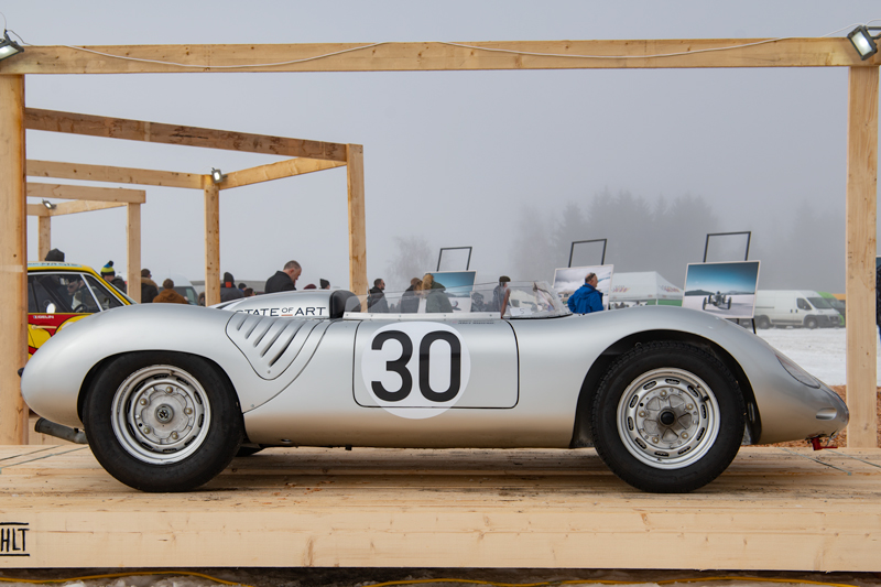 GP Ice Race 2020 - Zell am See - Porsche 550