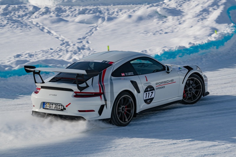 Porsche GT3 RS - GP Ice Race - Zell am See/Kaprun