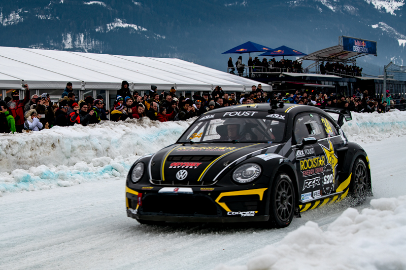 GP Ice Race 2020 - Zell am See - VW Käfer - Fahrer Foust