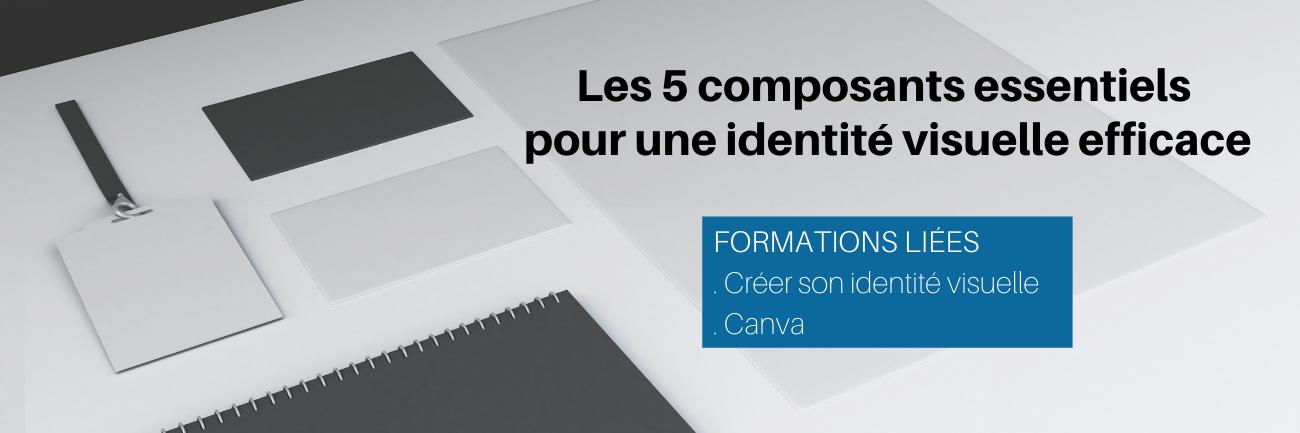 Les 5 composants essentiels pour une identité visuelle efficace
