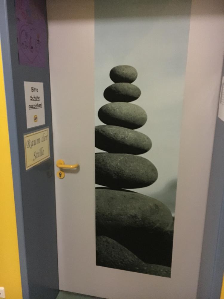 Eingang Meditationsraum