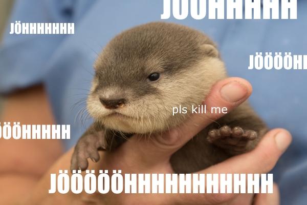 fauntleroy blog otter jöh pls kill me
