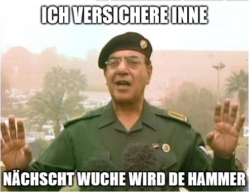 fauntleroy dienstag blog irak informationsminister meme workshop