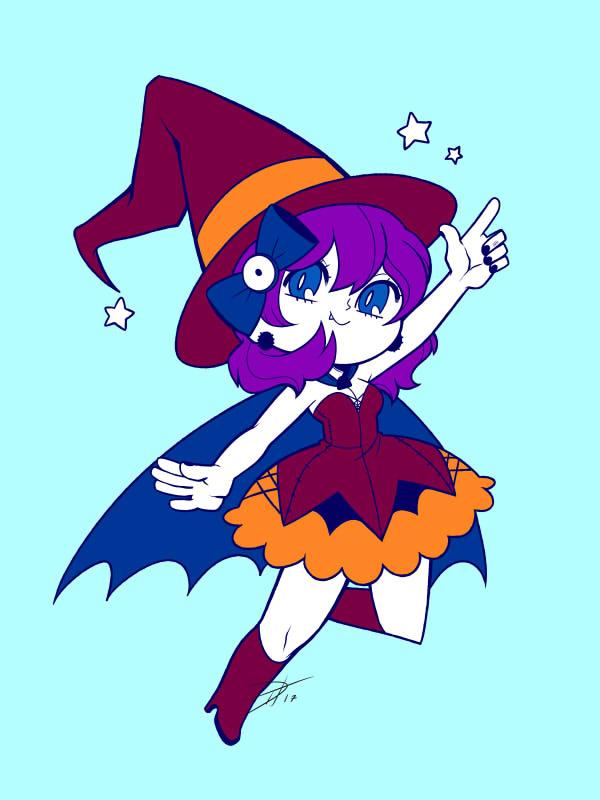 'Little Witch!' - Halloween Design 2017