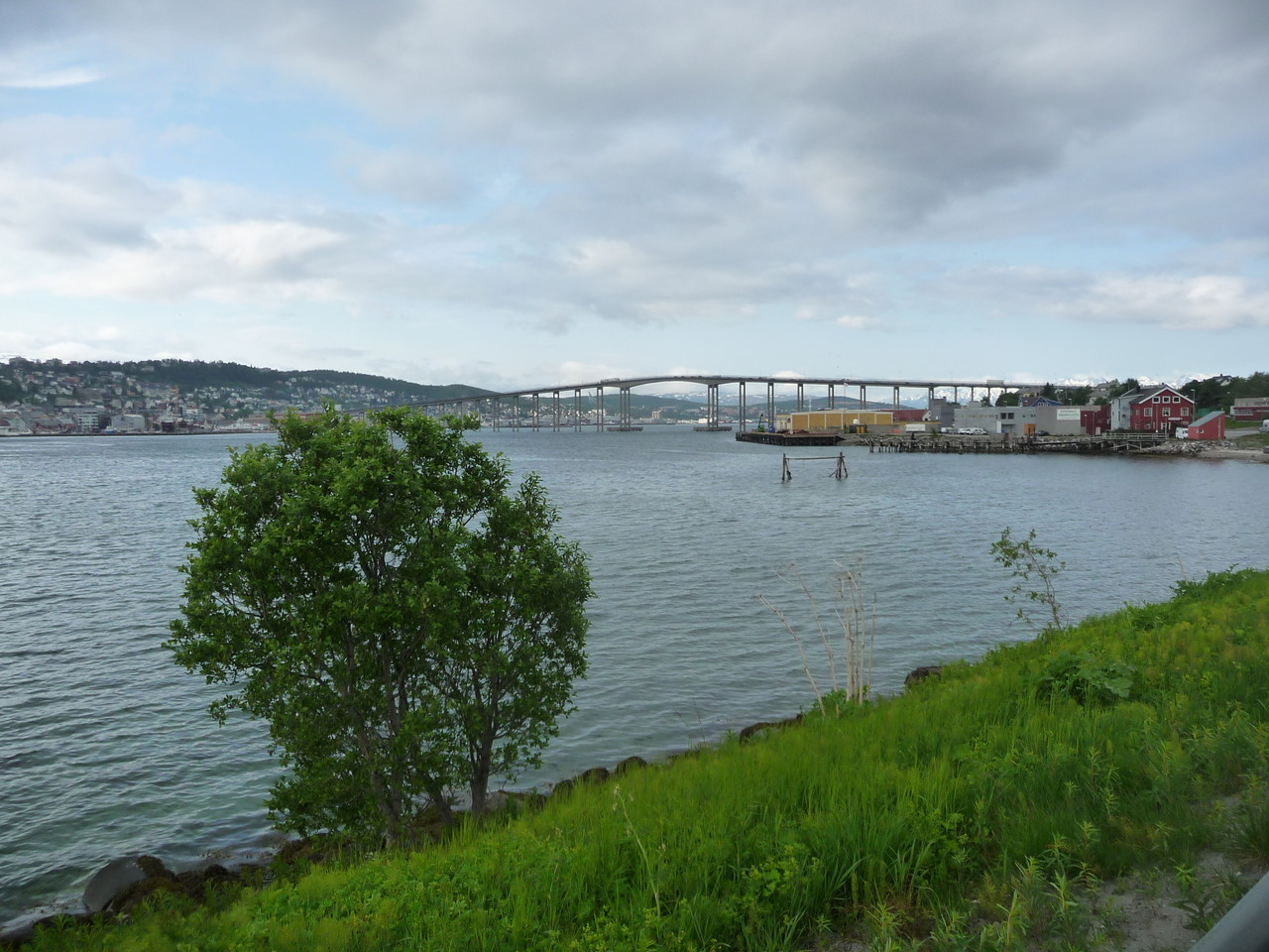 ein letzter Blick auf Tromsö