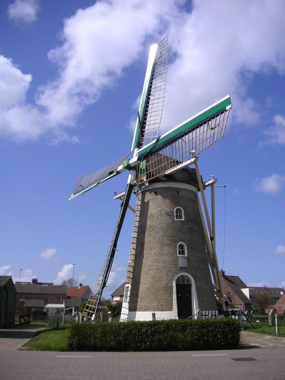 eine der vielen Windmühlen