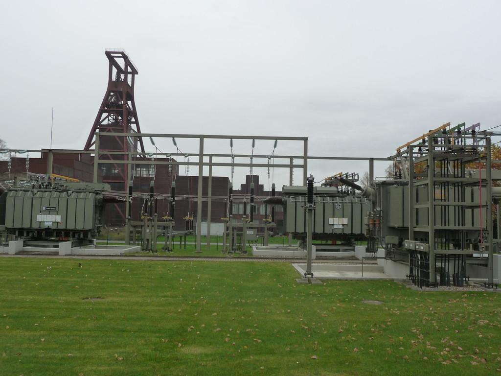 Transformatoren an der Zeche Zollverein