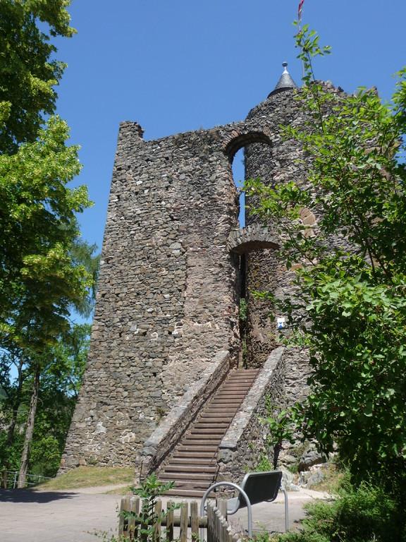 Aufgang zur Saarburg