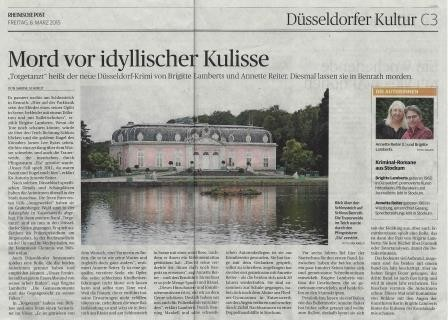 Rheinische Post vom 06.03.2015, Ausgabe Düsseldorf, Kulturseite