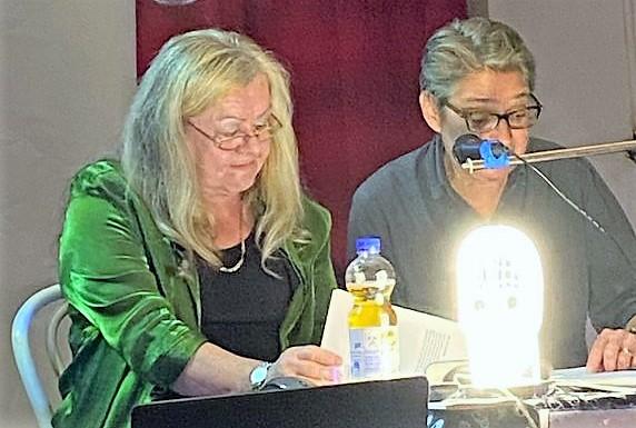 Ursula Schmid-Spreer und Brigitte Lamberts
