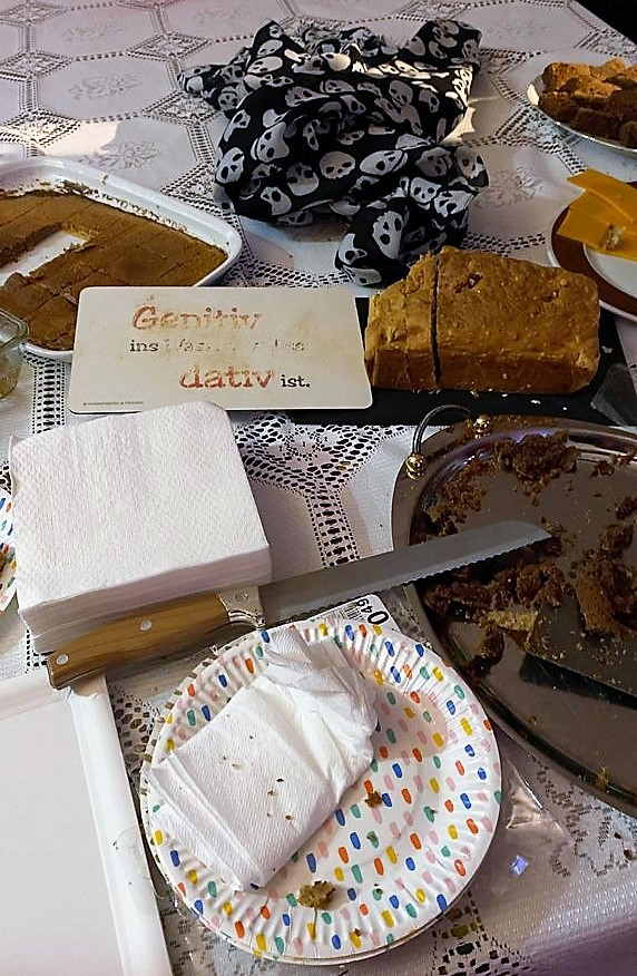 Irischer Whiskey-Kuchen und mallorquinscher Mandelkuchen