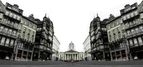 Photomontage de Bruxelles