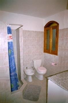 Badezimmer (WC/Dusche)