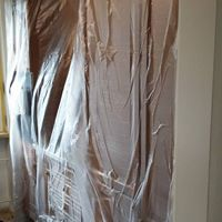 Amigos Maler bei der Arbeit, Wir Reinigen und Räumen , Sie Malen und Gipsen
