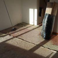 Die Räumung der Wohnung bevor der Besen zum Einsatz kam