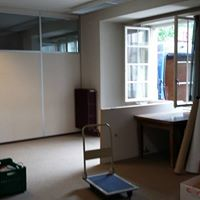 Recycling eines Büroraumes für diverse Umbauten