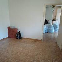 Die Messi Wohnung während der Arbeit