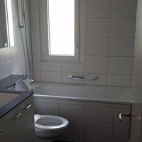 Bau Feinreinigung eines Renovierten Badezimmers