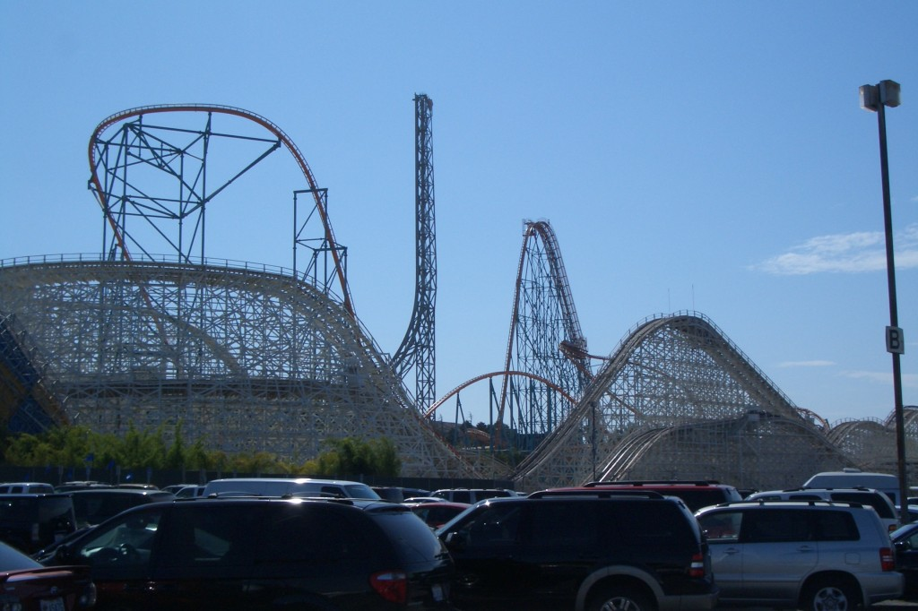 Six Flags Achterbahn Park
