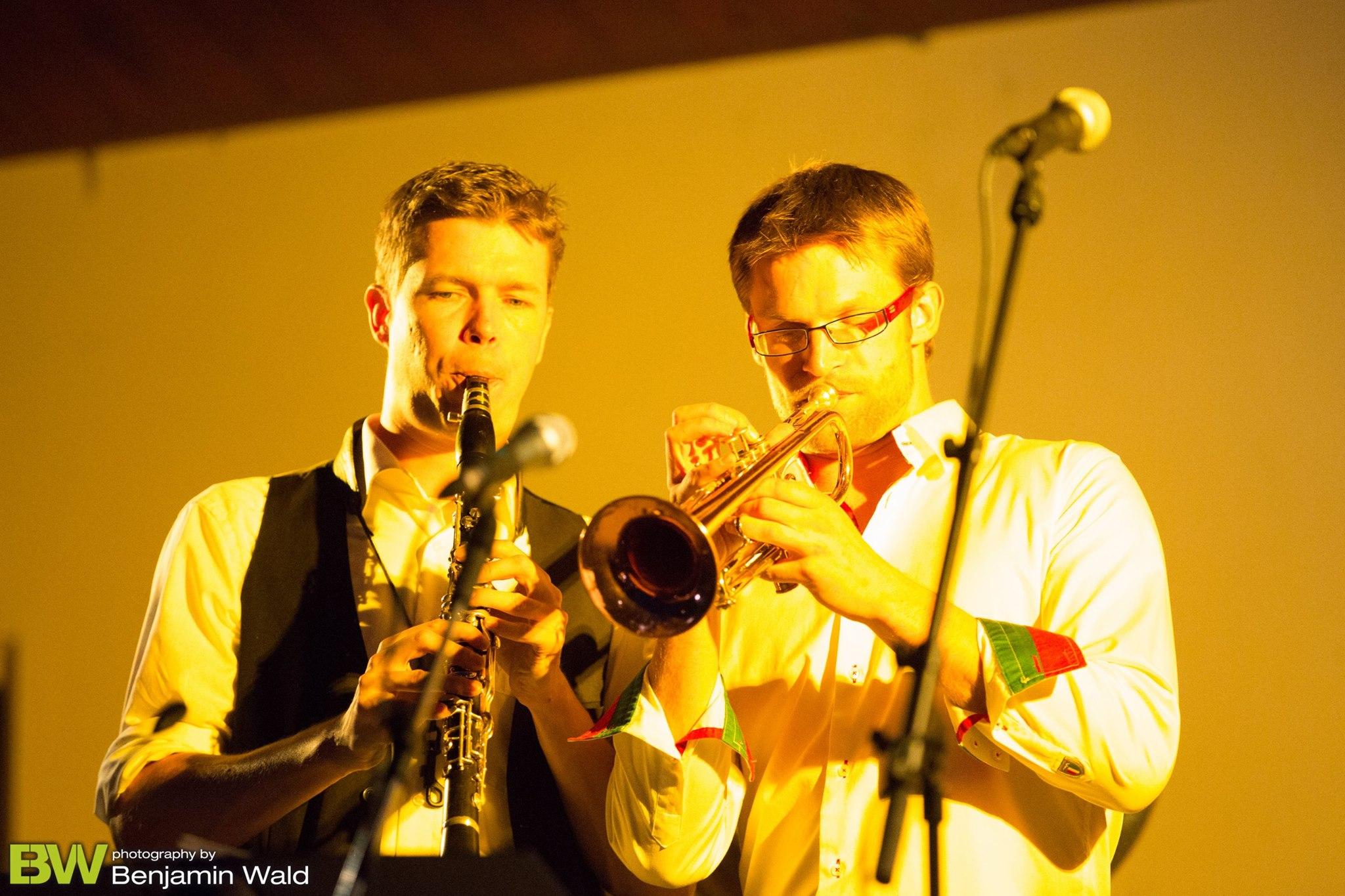 Borderland Dixieband - Klarinette, Trompete