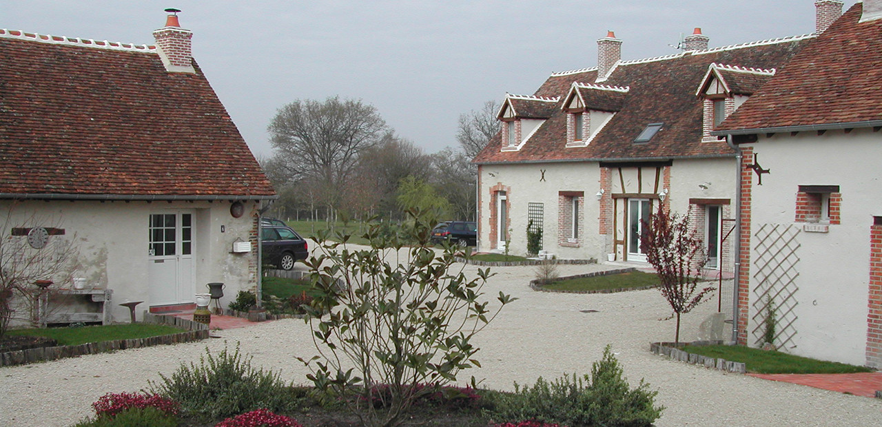 La Nigaudière, gîtes de charmes 3 étoiles à Lassay-sur-Croisne, entre la Sologne et la Vallée du Cher