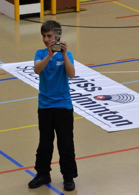 Aaron Weiss, SUI (2. Junioren U14)