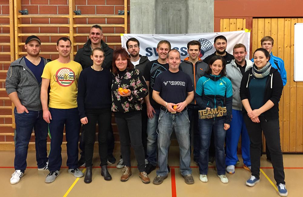 TeilnehmerInnen Teammeisterschaft 2015 (es fehlen: Sunspeeder Kreuzlingen, Stephan Keck, Samuel Meier)