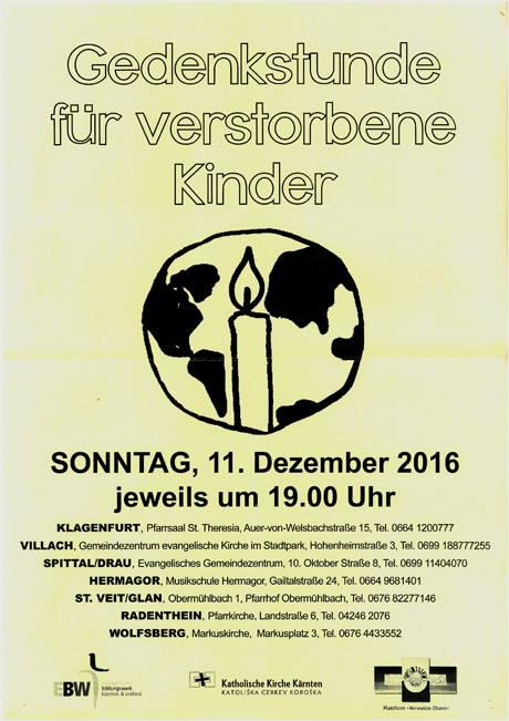 berichtet auf Facebook die Evangelische Kirche im Stadtpark Villach