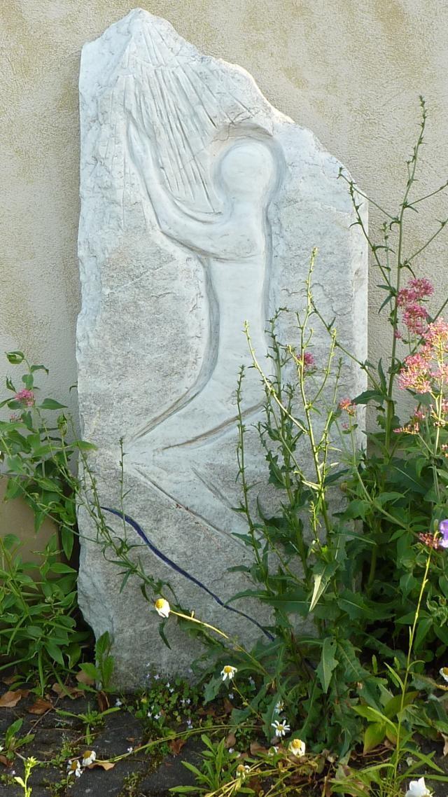 Wunderbare Steinkunstwerke blühen im Garten des Lebens...