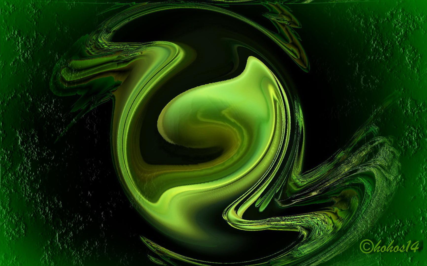 Gerald Hohos` abstakte Kunst spricht mit Farbe und Form...