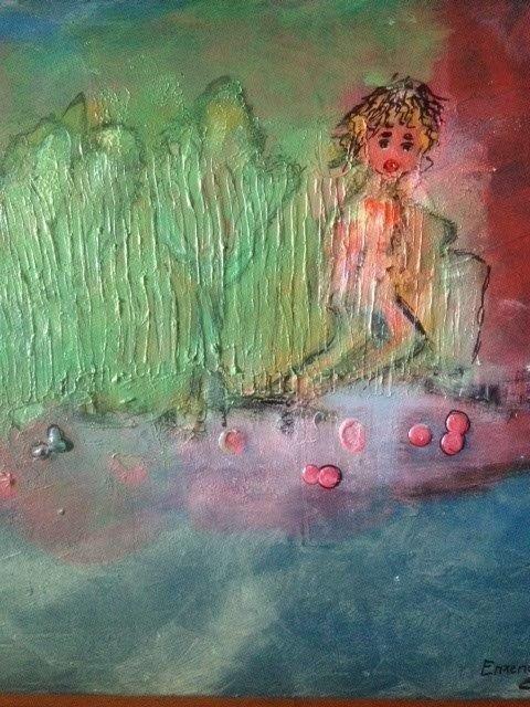 Inge Enzendorfer nimmt uns mit in ihre Kunst