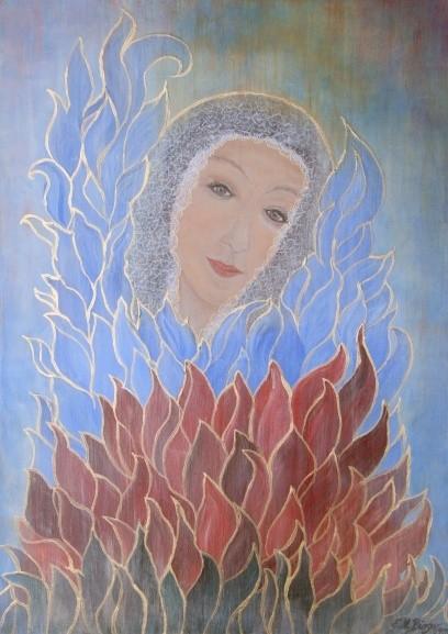 Lassen Sie sich Zeit für Edith Maria Bürgers Kunst....
