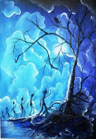 (copyright Damien Blue) - sold -