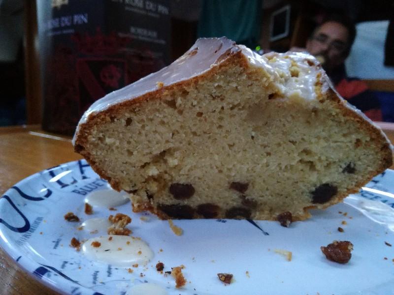 Rum-Rosinen-Kuchen