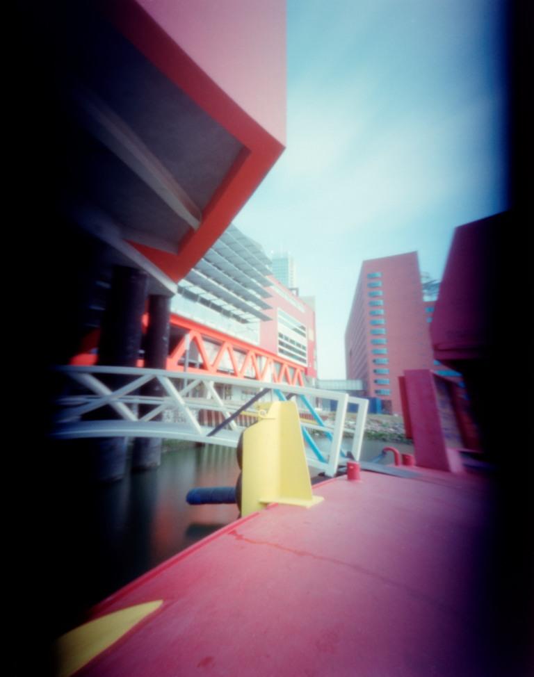 Achter het Nieuwe Luxor Theater Rotterdam