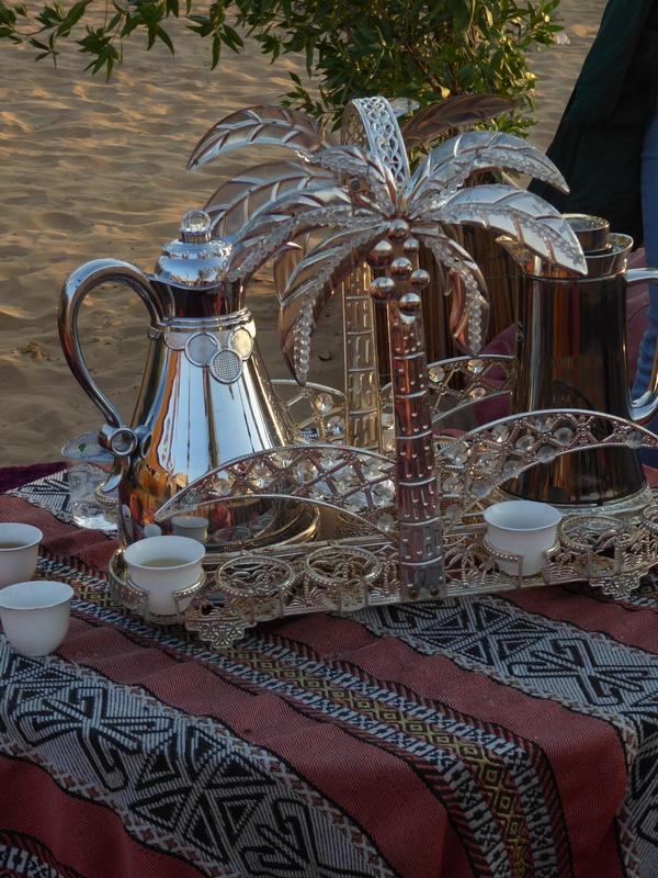 Teechen in der Wüste