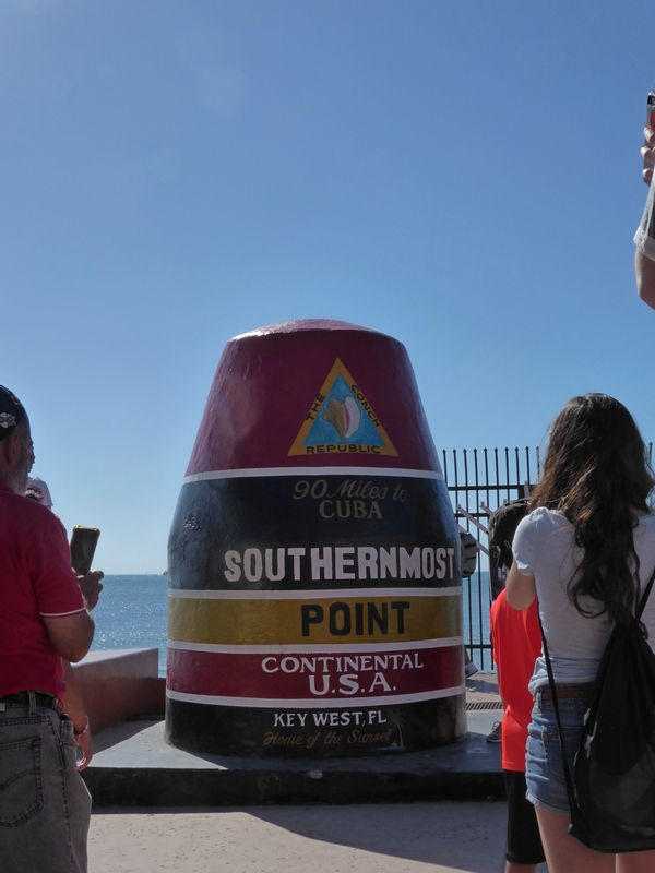 ... southernmost point