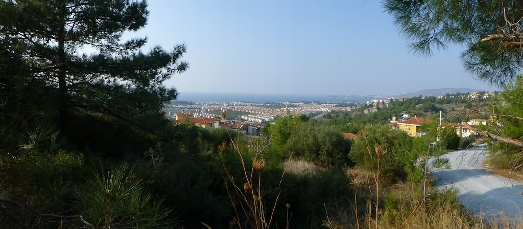 Blick von Sogucak auf's Meer