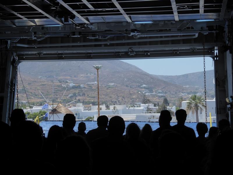 Mit der Fähre von Mykonos nach Paros