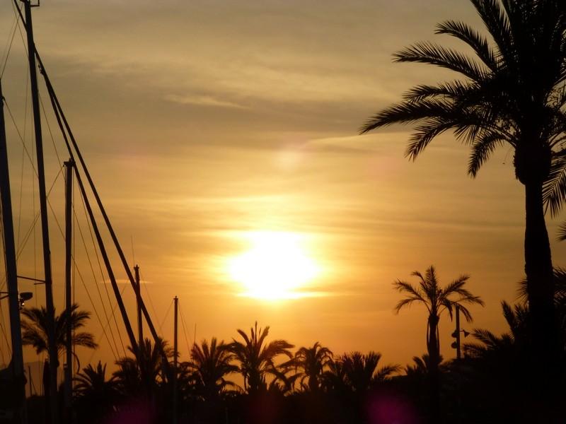 Alcudia im Sunset-Modus